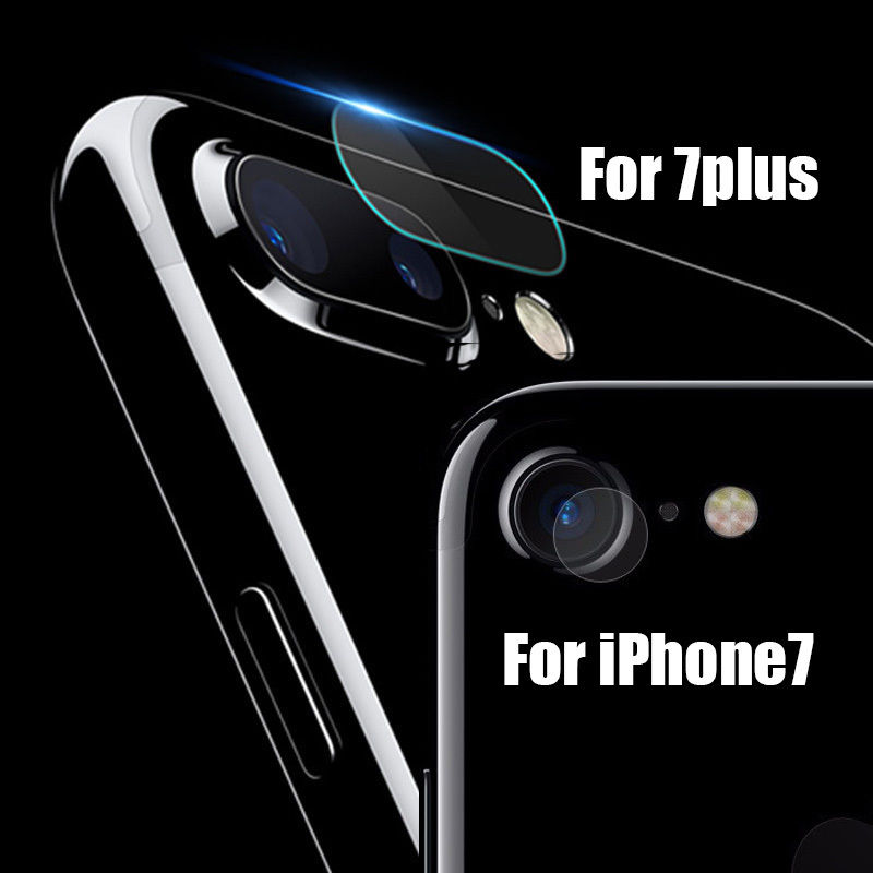 Premium Glass Rear Camera Lens Protector For Apple iPhone 7,8 Plus