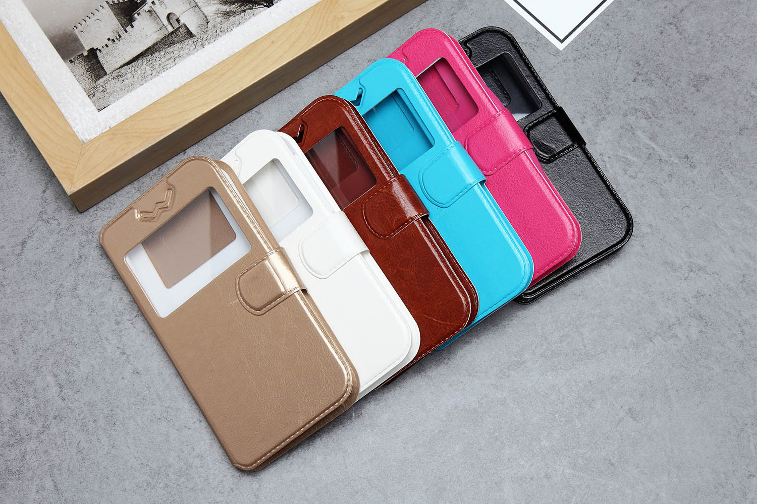 Universal Mobile Phone Flip Case for smart phone Can be used for all models