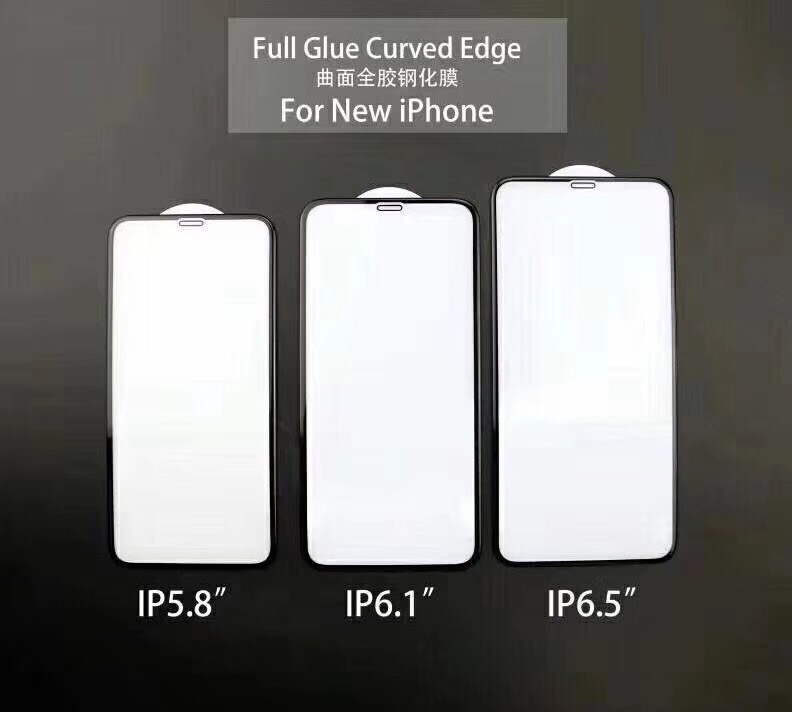 New iPhone 3D Curved High Alumina Glass Protector